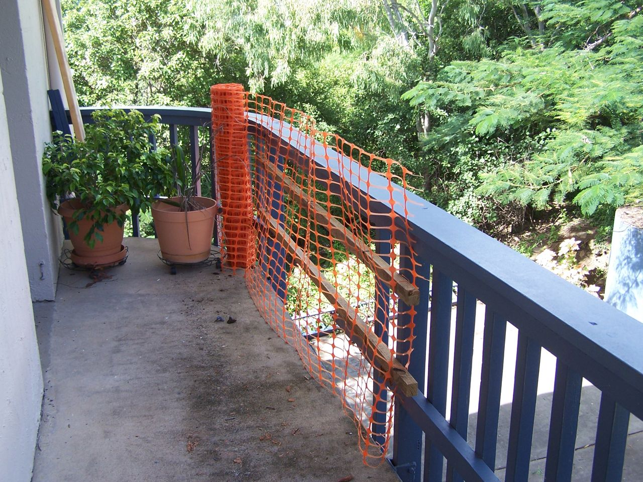 Whitsunday terraces balcony rails for body corporate owners for Balcony repairs